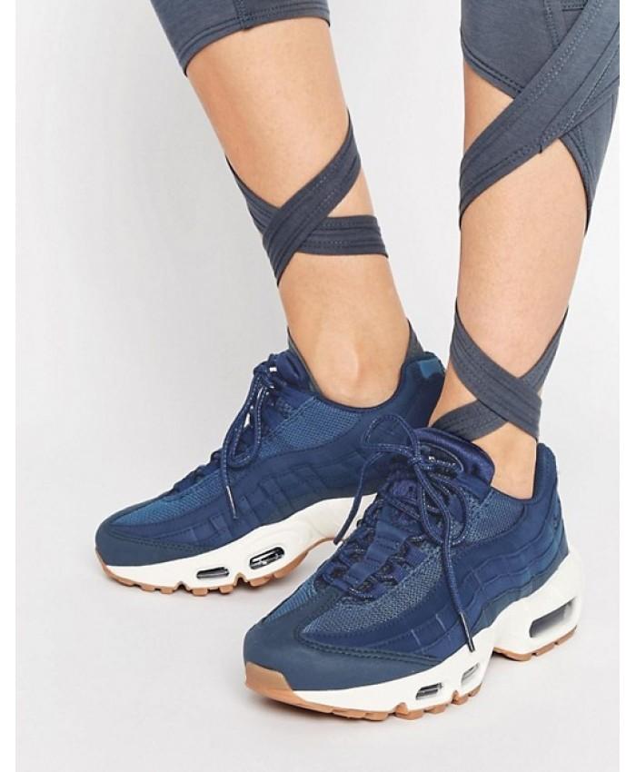 Chaussures Nike Air Max 95 Premium Bleu