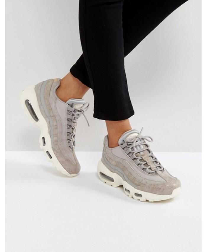 Chaussures Nike Air Max 95 Premium Gris