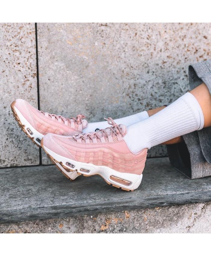 Chaussures Nike Air Max 95 Premium Rose