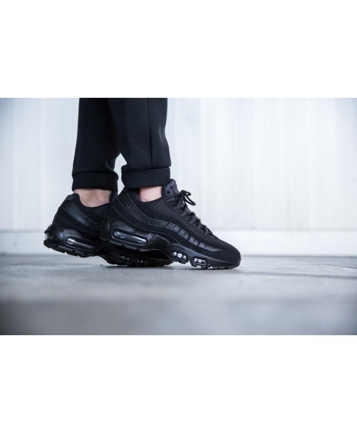 Chaussures Nike Air Max 95 Premium tout Noir