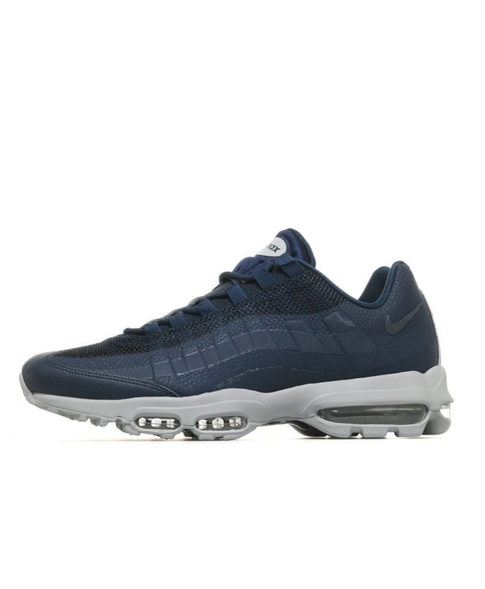 Chaussures Nike Air Max 95 Ultra Essential Bleu Gris