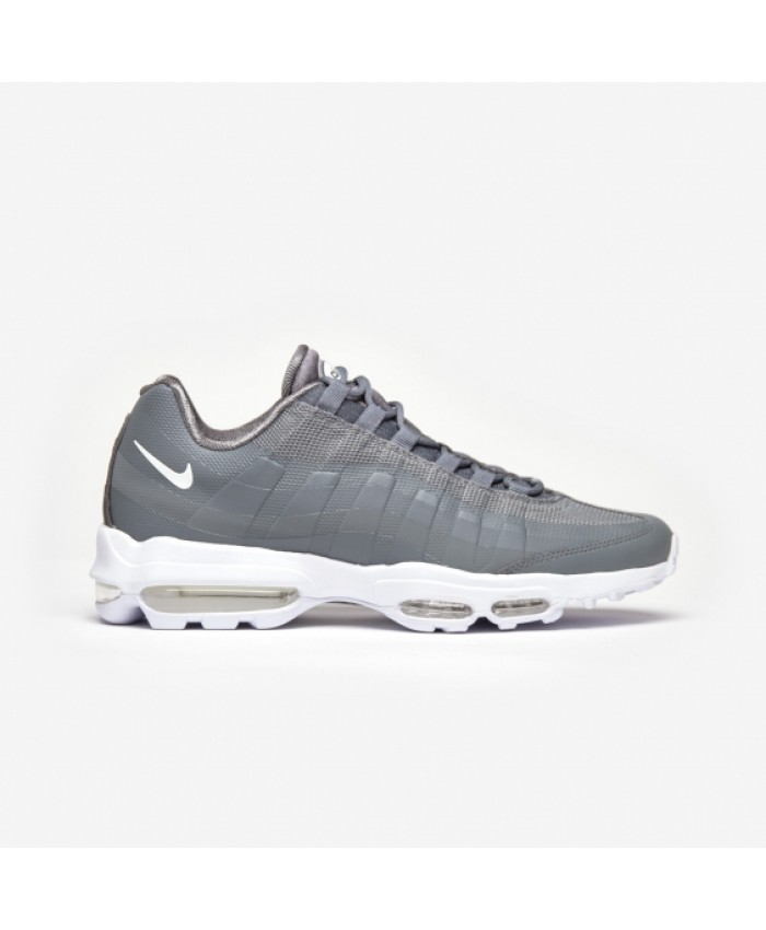 Chaussures Nike Air Max 95 Ultra Essential Gris Blanc