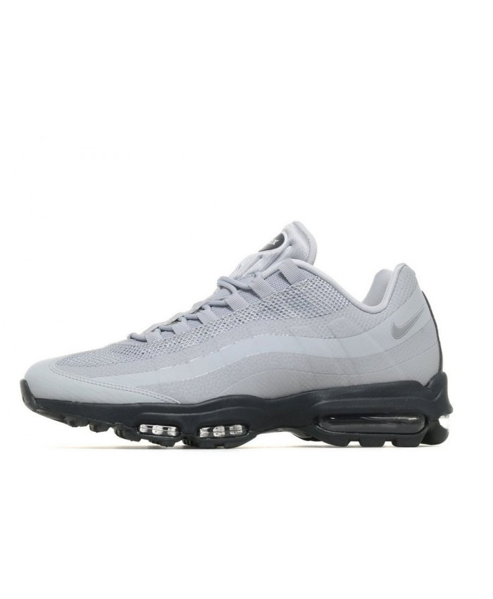Chaussures Nike Air Max 95 Ultra Essential Gris Noir