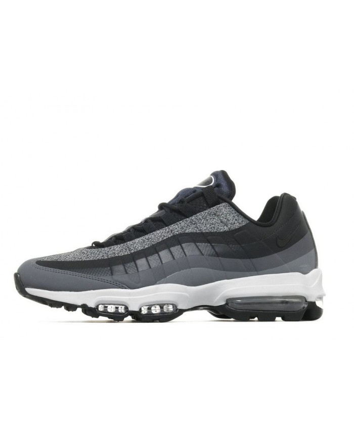 Chaussures Nike Air Max 95 Ultra Essential Gris Noir Blanc