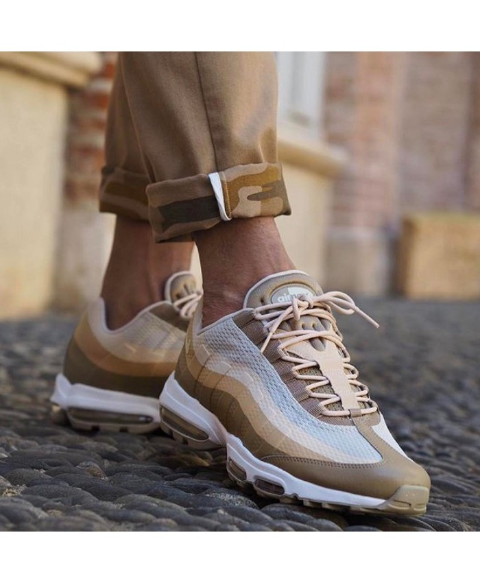 Chaussures Nike Air Max 95 Ultra Essential Kaki