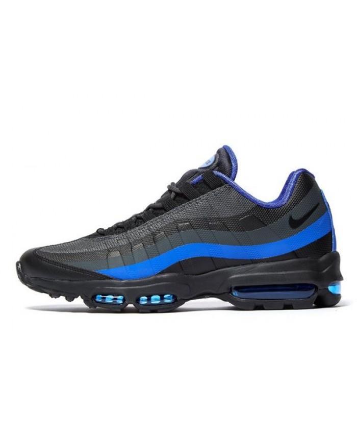 Chaussures Nike Air Max 95 Ultra Essential Noir Bleu