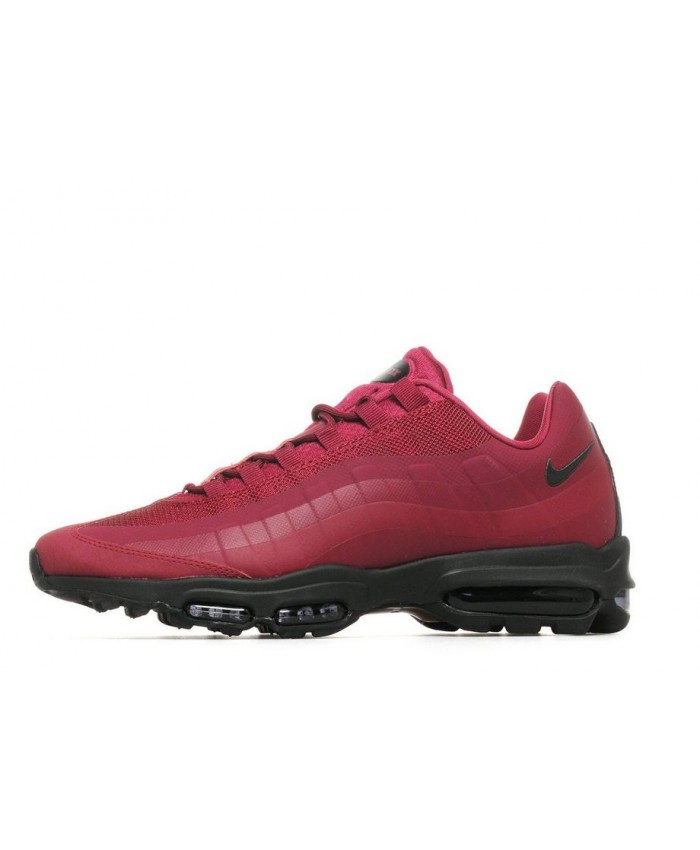Chaussures Nike Air Max 95 Ultra Essential Rouge Noir