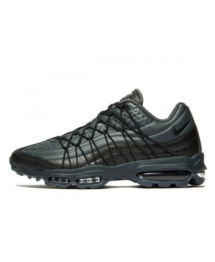 Chaussures Nike Air Max 95 Ultra Vert Noir