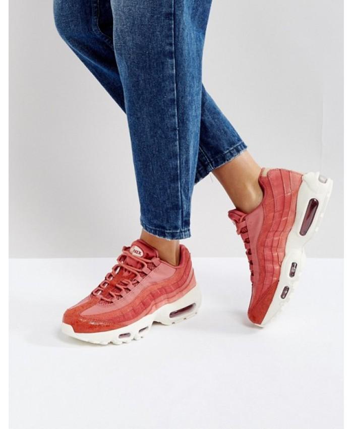 Chaussures Rose Nike Air Max 95 Premium
