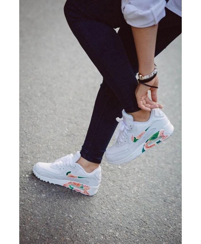 Femme Nike Air Max 90 Blanc Floral