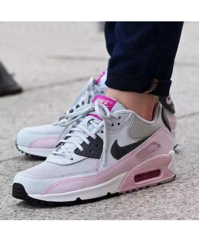 Femme Nike Air Max 90 Essential Light Rose Gris