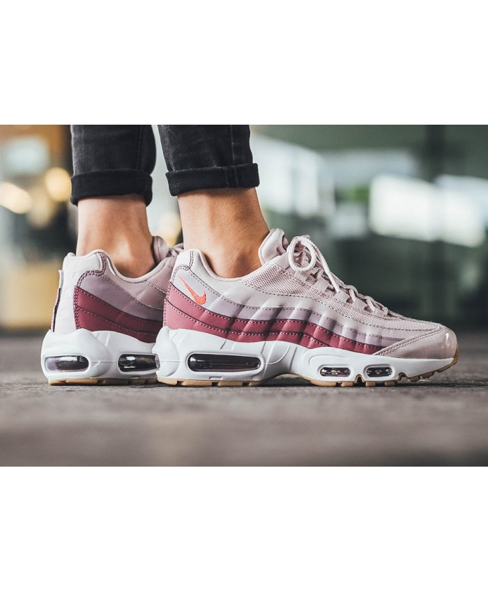 Femme Nike Air Max 95 Barely Rose et Hot Punch