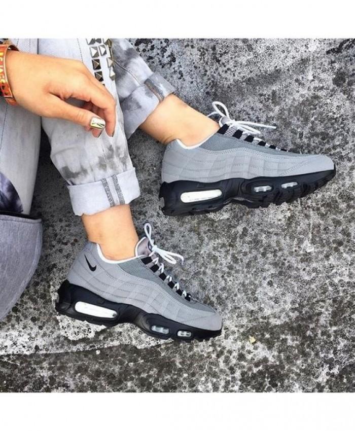 Femme Nike Air Max 95 Gris Noir