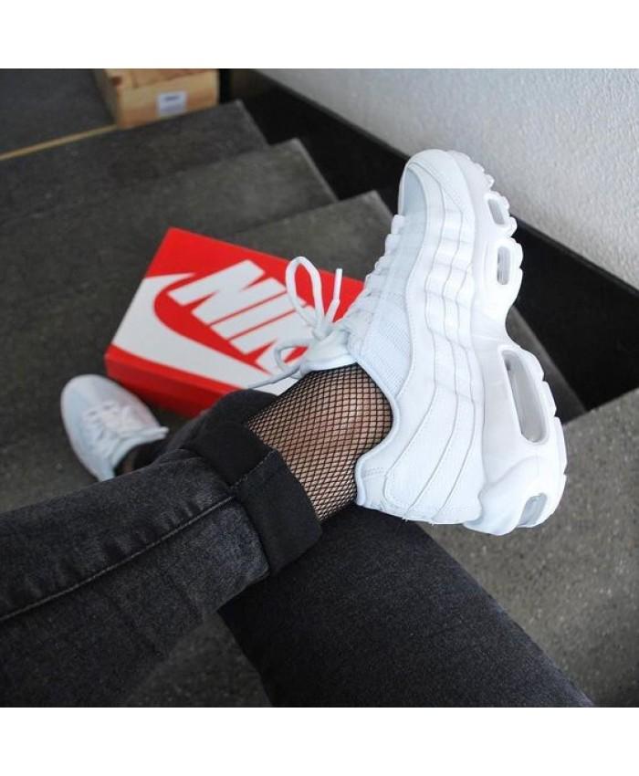 Femme Nike Air Max 95 Triple Blanc