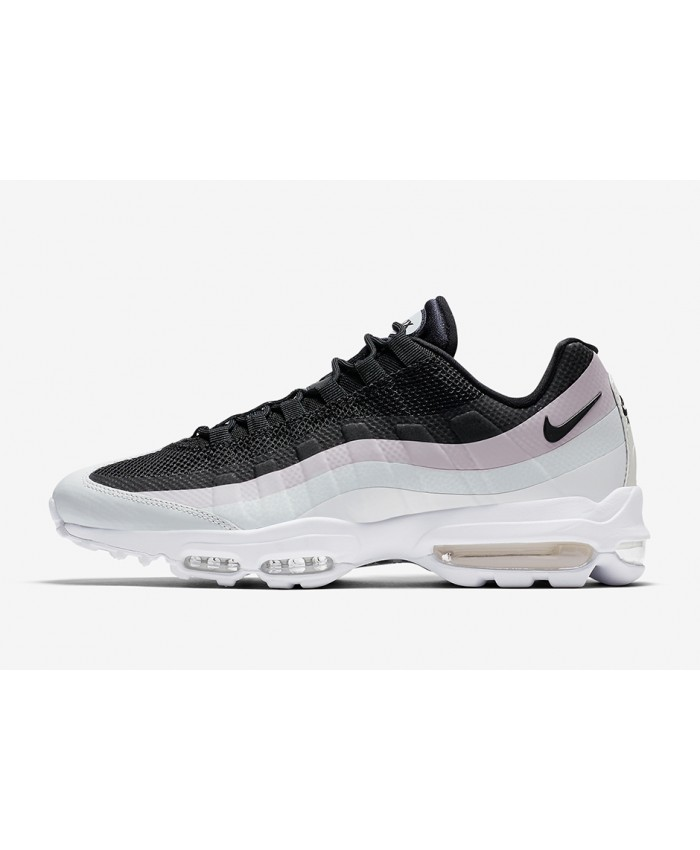 Femme Nike Air Max 95 Ultra Essential Noir Rose Blanc