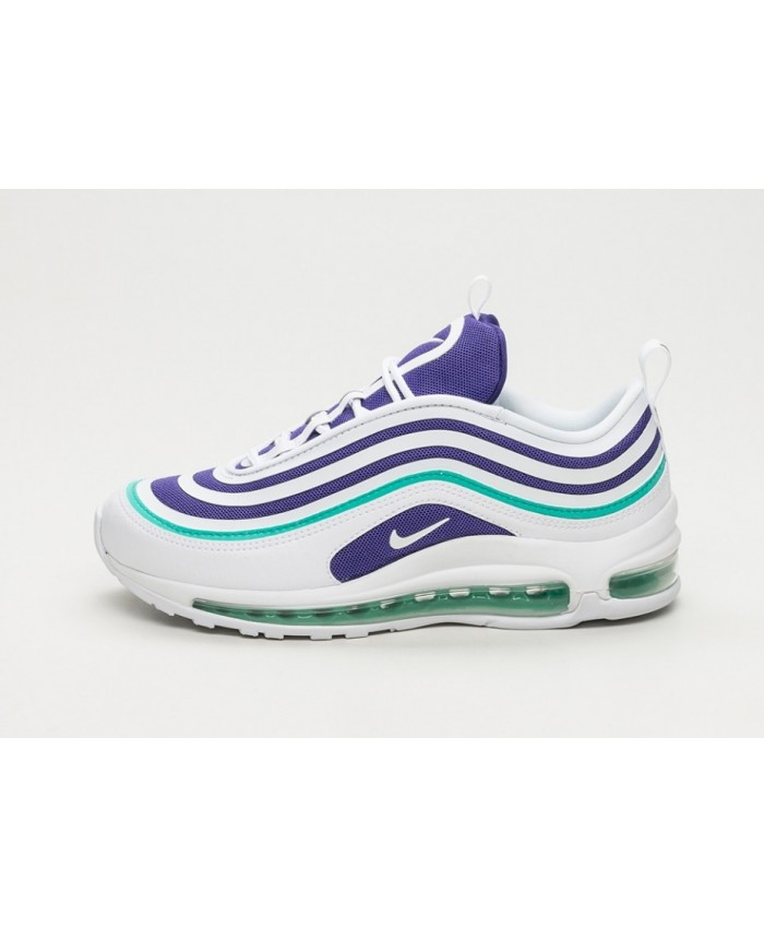 femme nike air max 97 ultra 39 17 se blanc violet vert. Black Bedroom Furniture Sets. Home Design Ideas