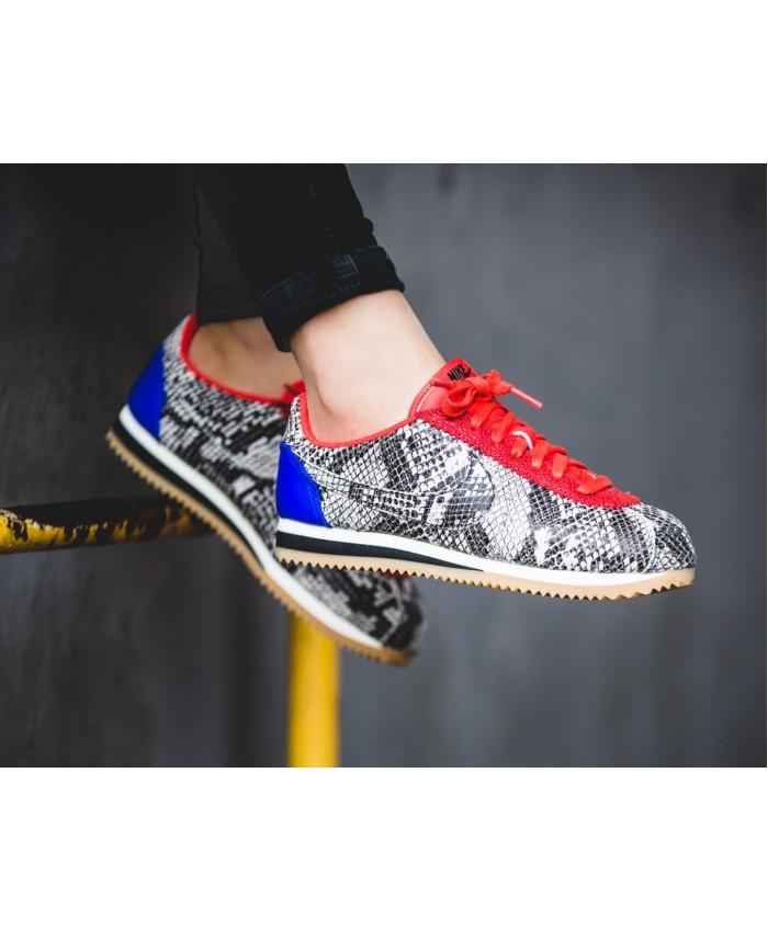 Femme Nike Classic Cortez Cuir Premium Python Pack
