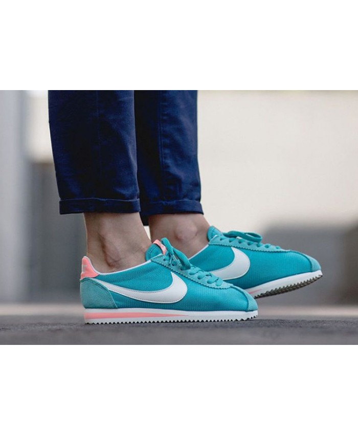 Femme Nike Classic Cortez Washed Teal