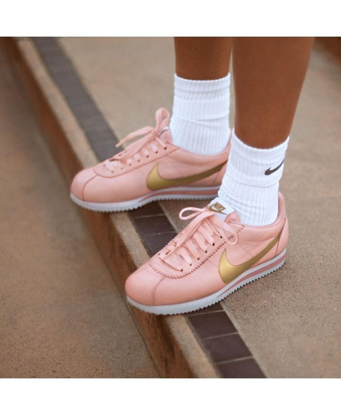 Femme Nike Cortez Rose Gold