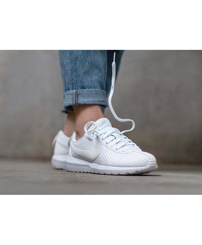 Femme Nike Roshe Cortez NM Blanc Pure Platinum