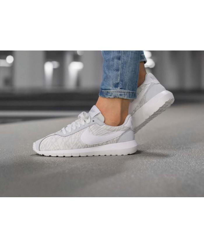 Femme Nike Roshe LD-1000 Blanc Gris