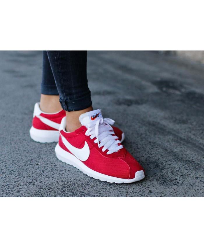 Femme Nike Roshe LD-1000 Rouge Blanc