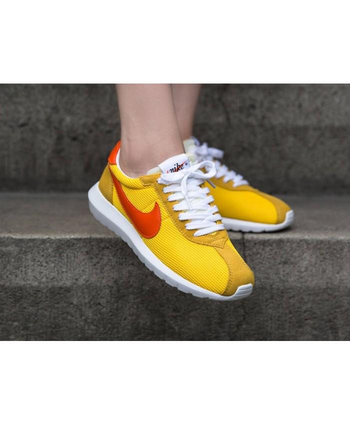 Femme Nike Roshe LD-1000 Rouge Orange