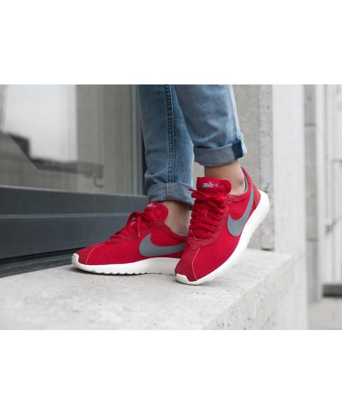 Femme Nike Roshe LD-1000 Gris Rouge