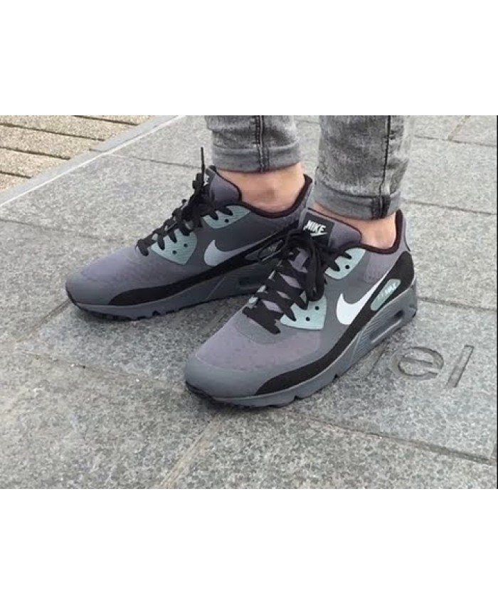 Homme Nike Air Max 90 Chaussures Ultra Essential Gris