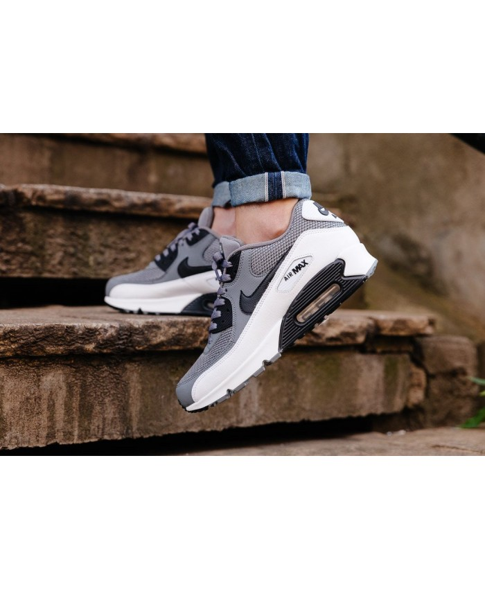 Homme Nike Air Max 90 Essential Cool Gris Blanc