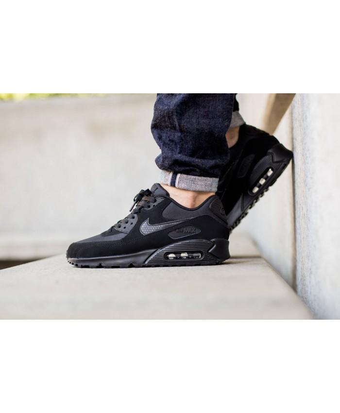 Homme Nike Air Max 90 Essential Tout Noir