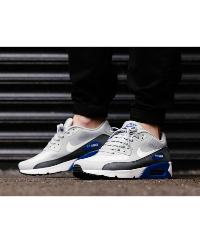Homme Nike Air Max 90 Ultra 2.0 Essential Gris Blanc