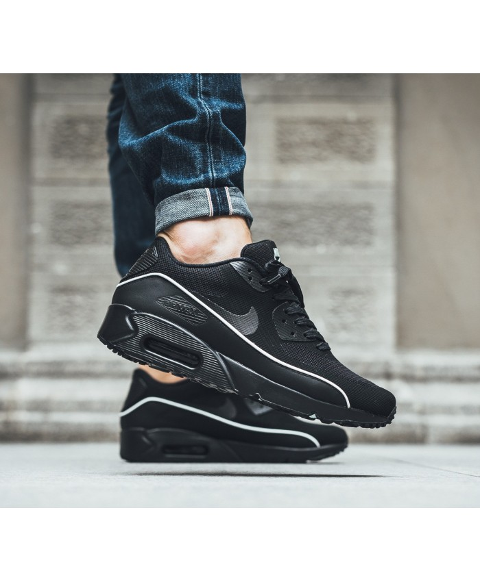 Homme Nike Air Max 90 Ultra 2.0 Essential Noir Blanc