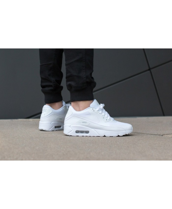 Homme Nike Air Max 90 Ultra 2.0 Essential Tout Blanc