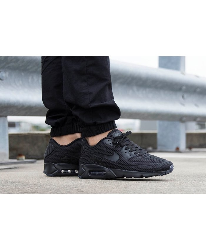 Homme Nike Air Max 90 Ultra Breathe Noir