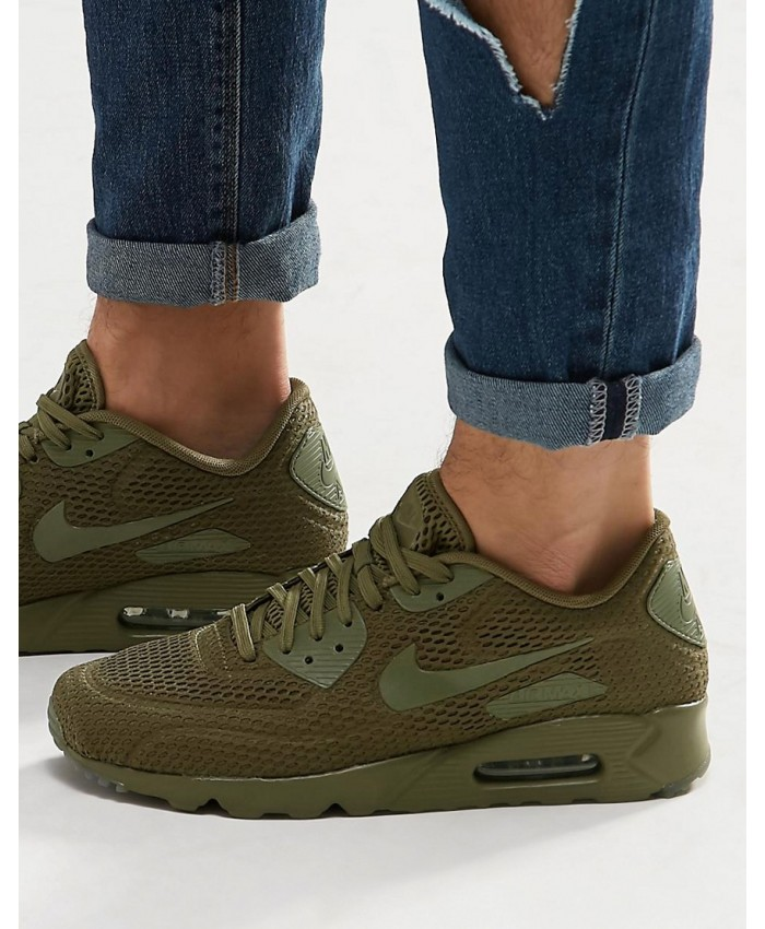 Homme Nike Air Max 90 Ultra Breathe Olive