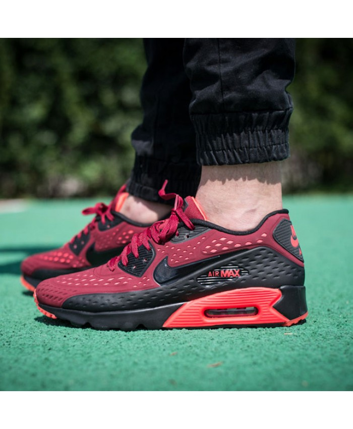 Homme Nike Air Max 90 Ultra Breathe Rouge Bright Crimson