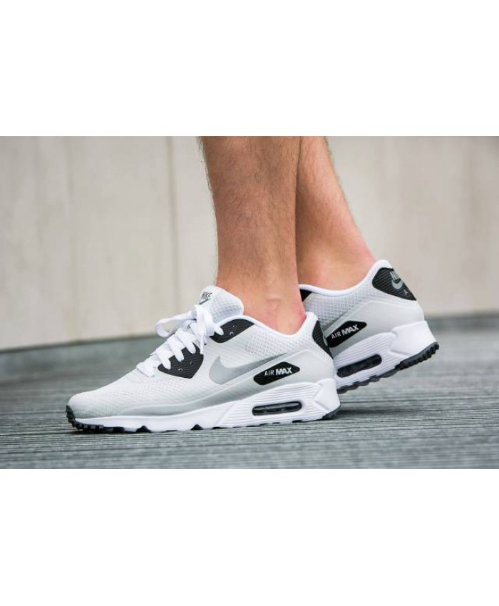 Homme Nike Air Max 90 Ultra Essential Blanc Noir