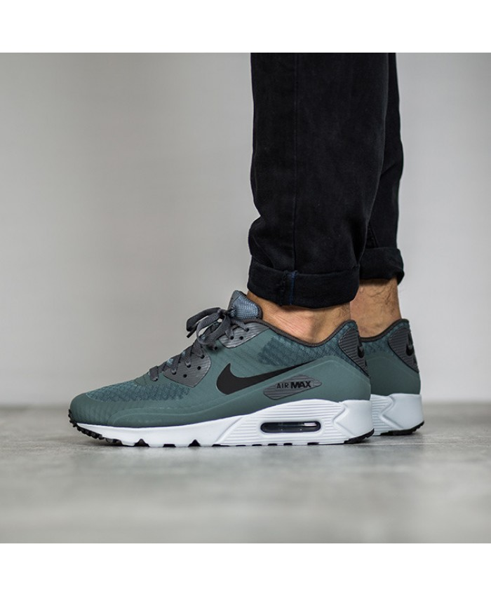 Homme Nike Air Max 90 Ultra Essential Gris Chaussures