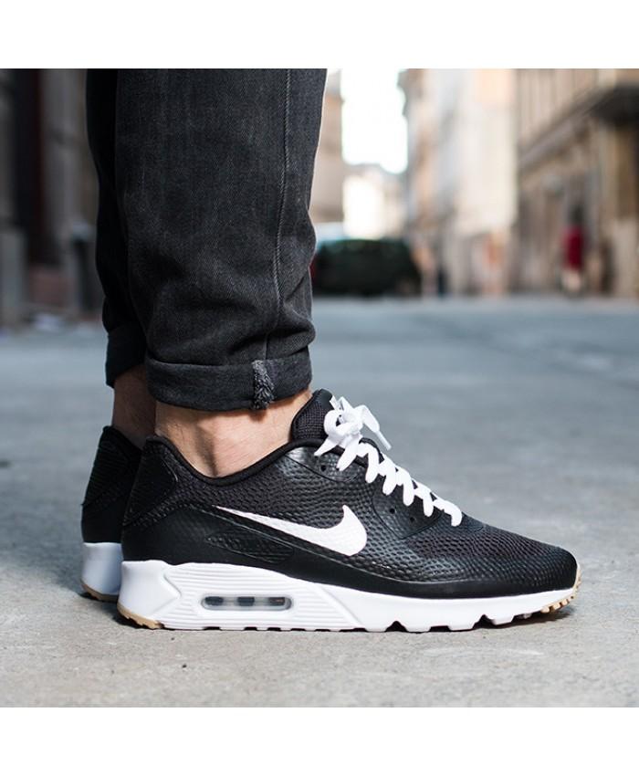 Homme Nike Air Max 90 Ultra Essential Noir Blanc