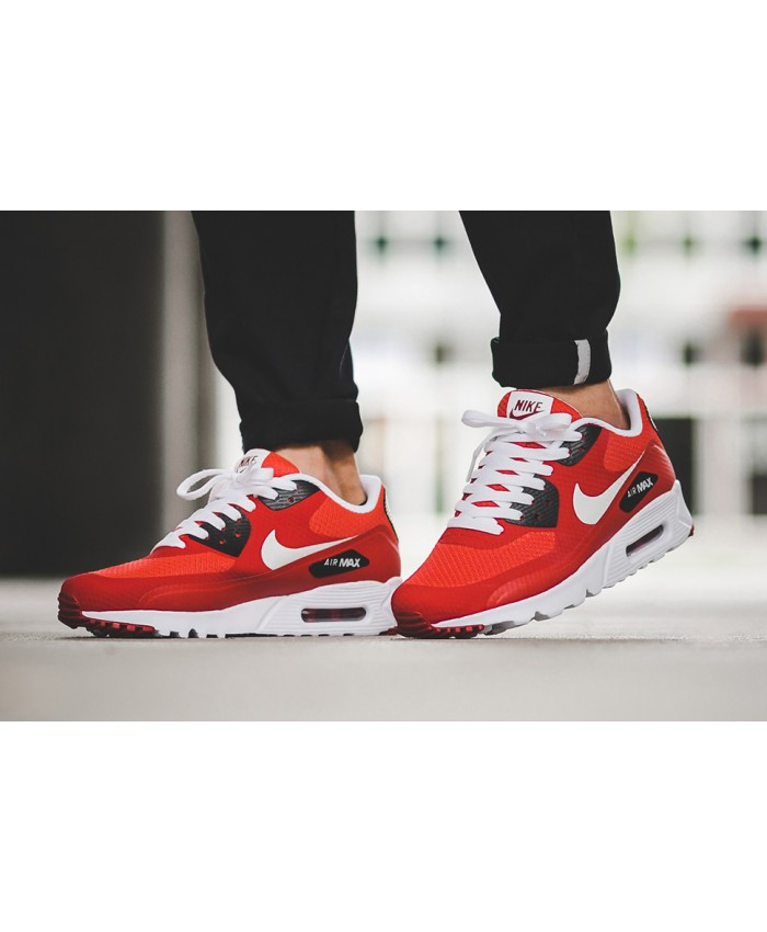 Homme Nike Air Max 90 Ultra Essential Rouge Noir