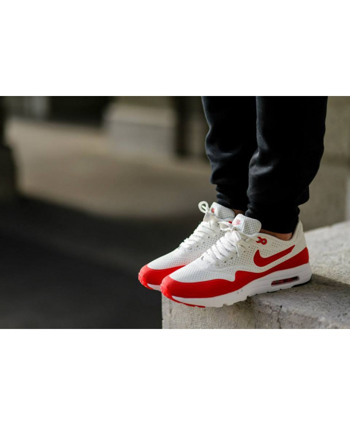 Homme Nike Air Max 90 Ultra Moire Blanc Rouge