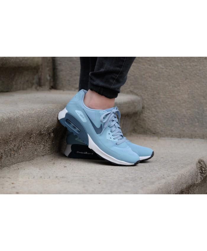 Homme Nike Air Max 90 Ultra Moire Bleu Chaussures