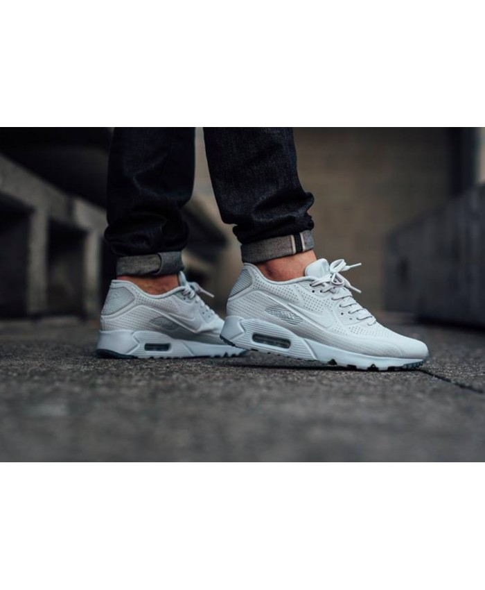Homme Nike Air Max 90 Ultra Moire Gris