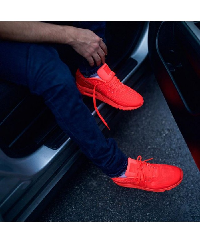 Homme Nike Air Max 90 Ultra Moire Hyper Rouge