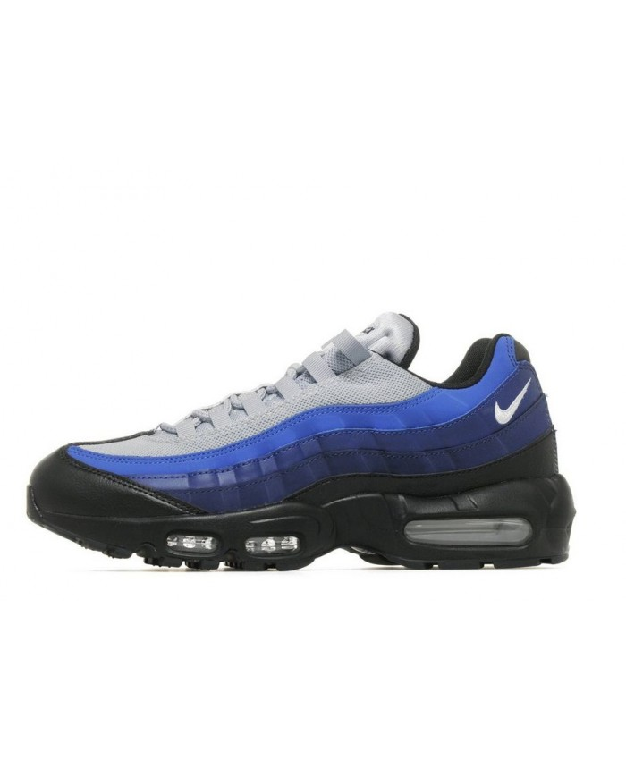 Homme Nike Air Max 95 Bleu Gris Noir