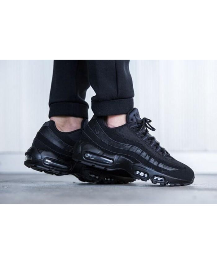 Homme Nike Air Max 95 Triple Noir