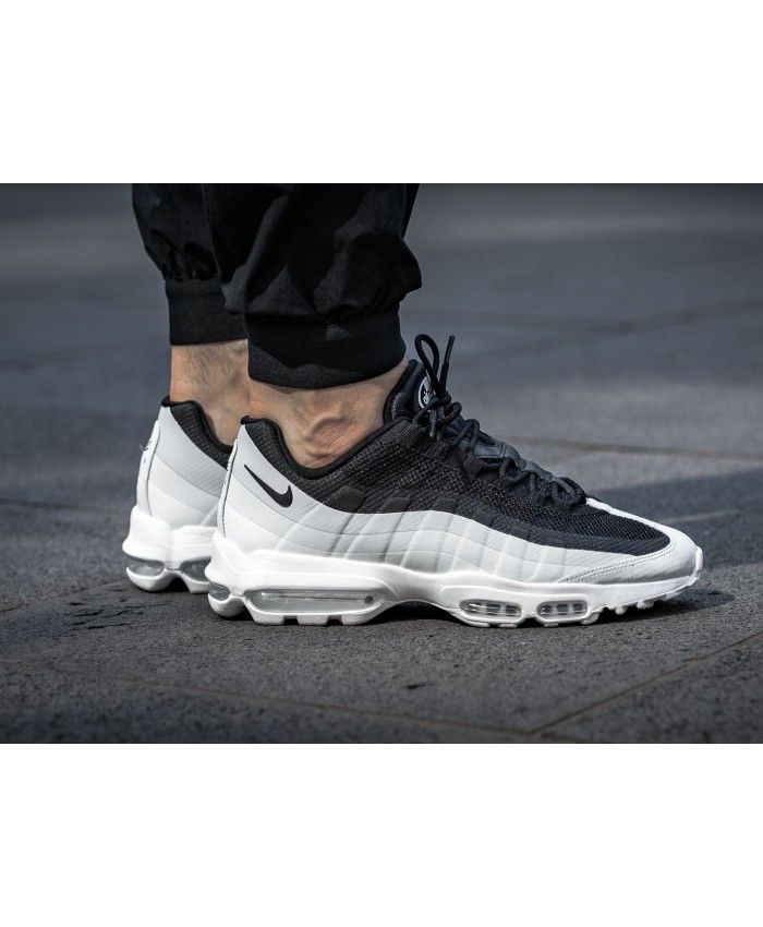 Homme Nike Air Max 95 Ultra Essential Noir Blanc