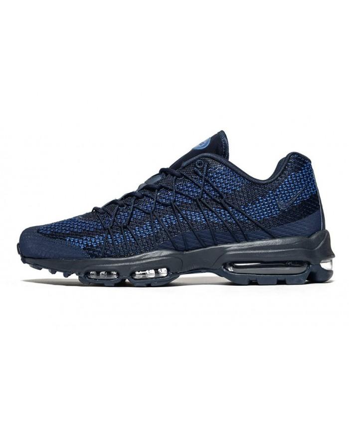 Homme Nike Air Max 95 Ultra Jacquard Bleu