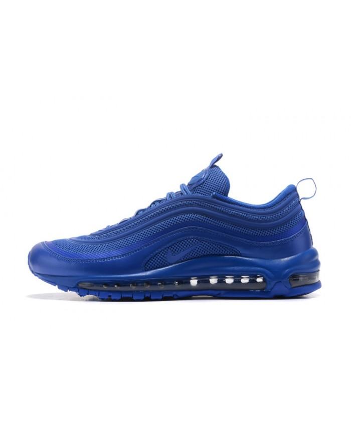 Homme Nike Air Max 97 OG QS Tout Bleu